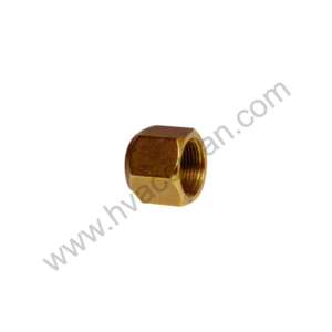 "1/4"" Brass Flare Nut in Oman"
