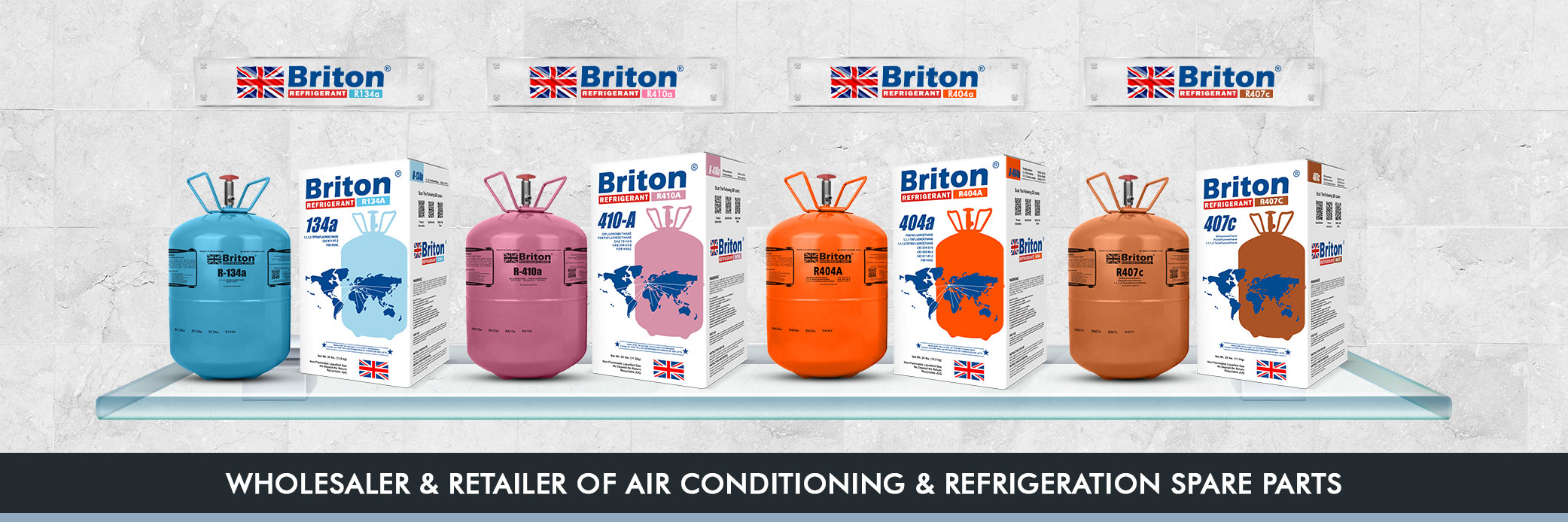 Briton Refrigerant Gases in Oman