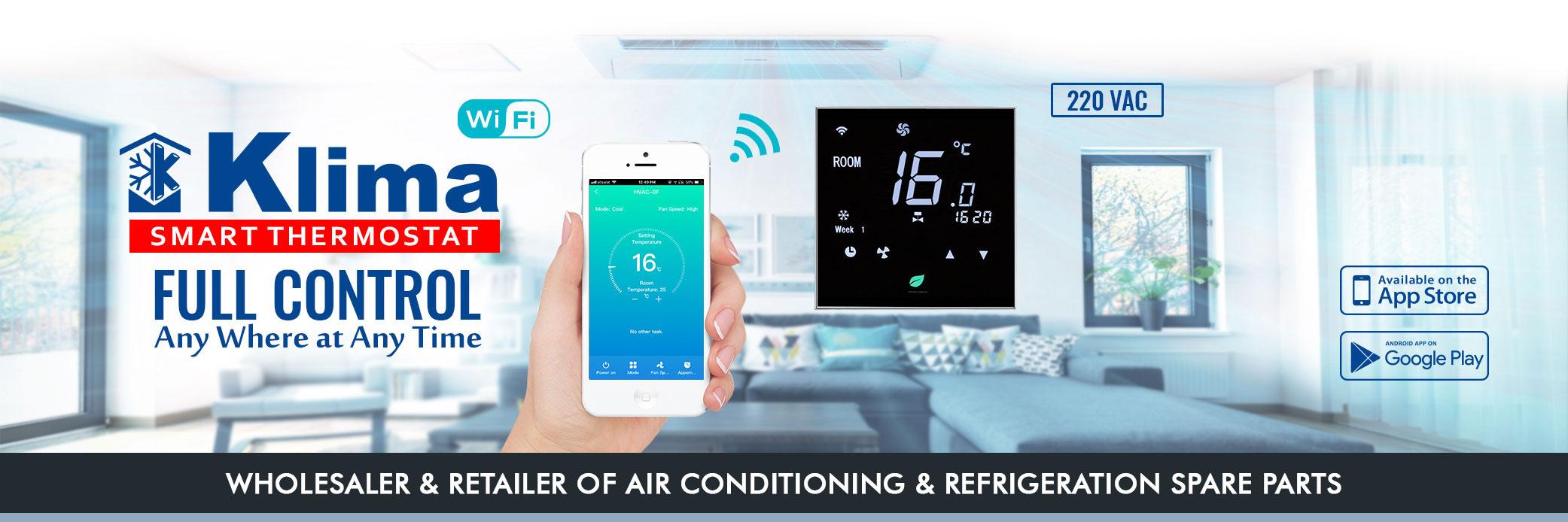 Klima WiFi Thermostat in Oman