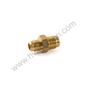 """Male Reducing Union Brass 3/8"""" x 1/4"""" Flare in Oman"""