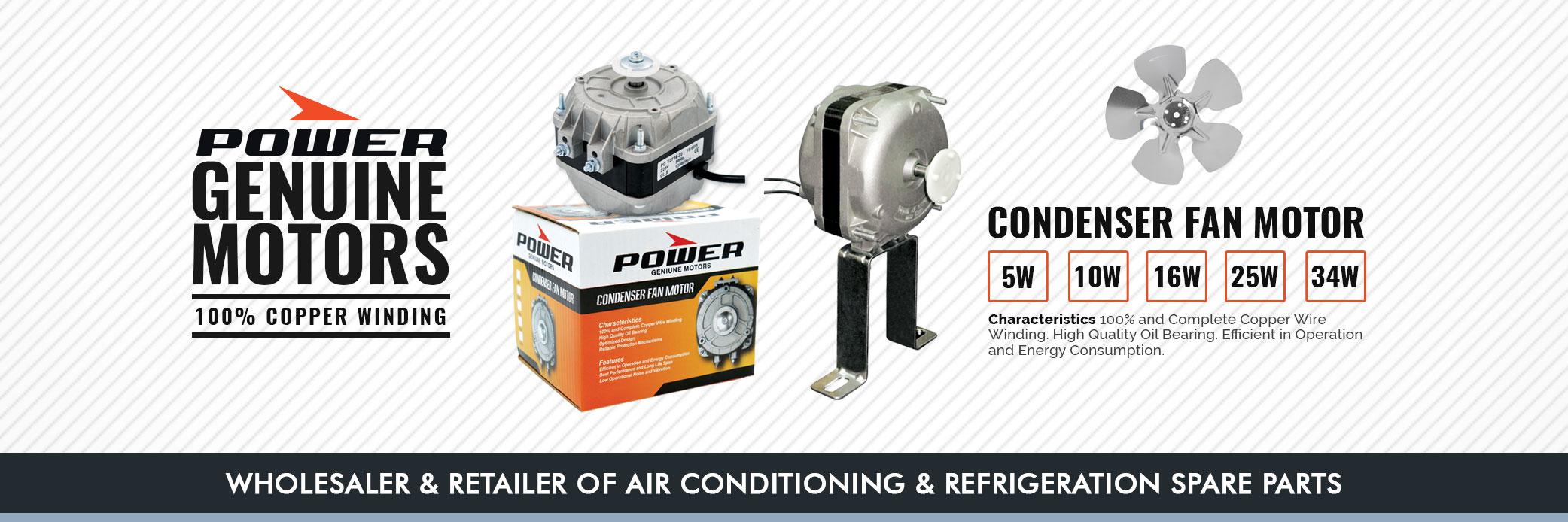Power Condenser Motor in Oman