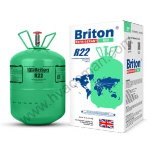 R22 Refrigerant Gas Briton in Oman