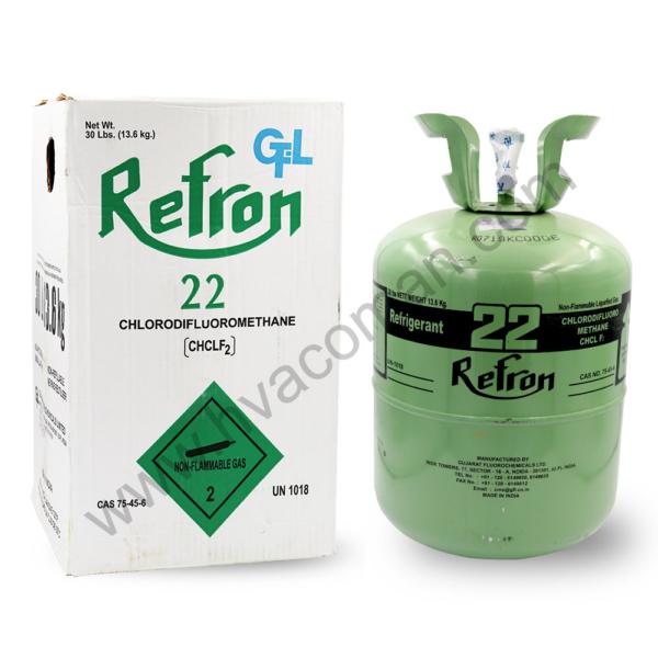 R22 Refron Refrigerant Gas India