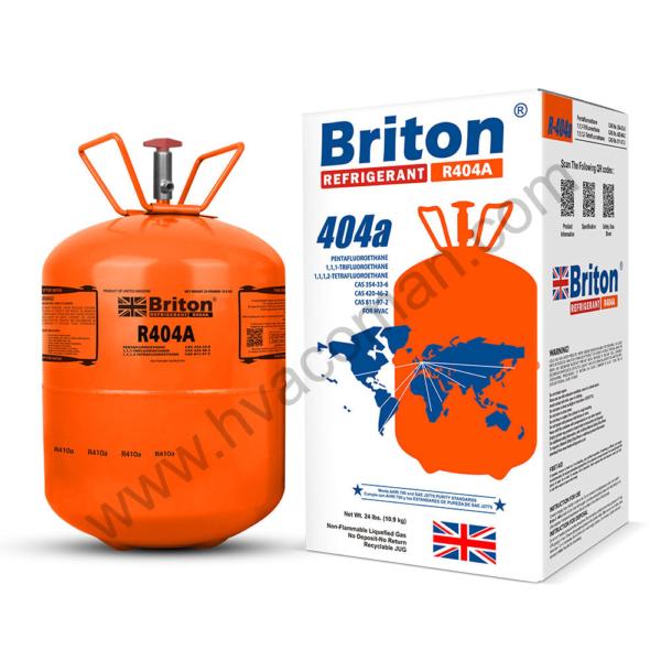 R404a Refrigerant Gas Briton in Oman
