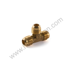 "Tee Brass Male 3/8"" Flare"