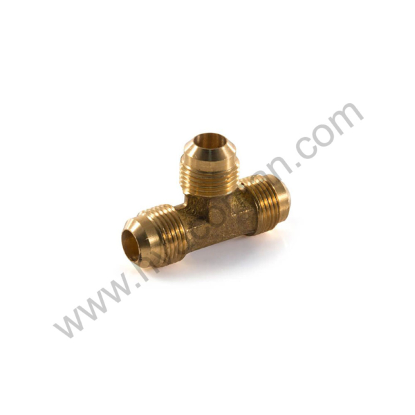 "Tee Brass Male 5/8"" Flare in Oman"