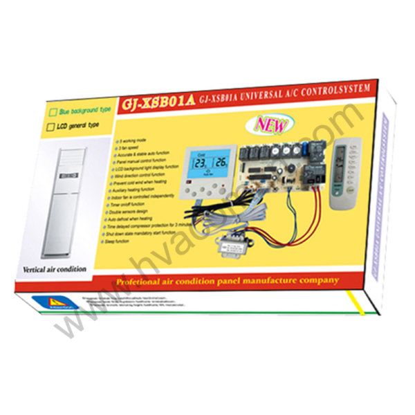 GJ-XSB01A Universal Air Conditioner PCB Board with AC Remote in Oman