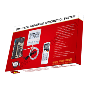 QD-U12A Universal Air Conditioner PCB Board with AC Remote in Oman