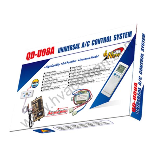 QD-U08A Universal Air Conditioner PCB Board with AC Remote in Oman