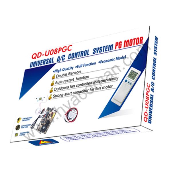 QD-U08PGC Universal Air Conditioner PCB Board with AC Remote in Oman