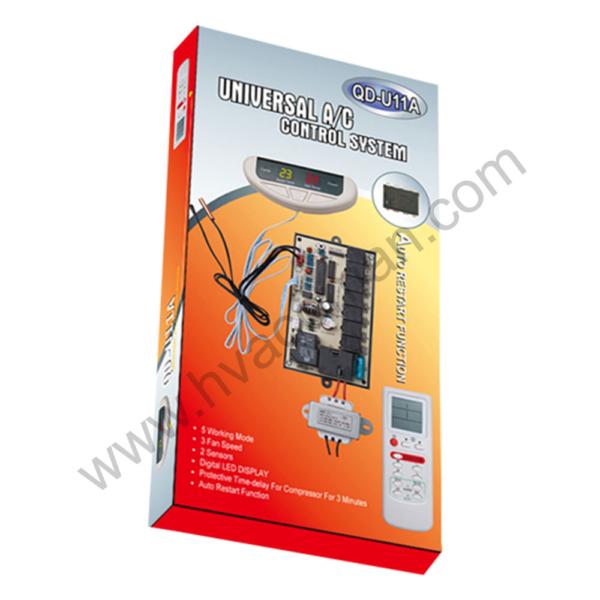 QD-U11A Universal Air Conditioner PCB Board with AC Remote in Oman
