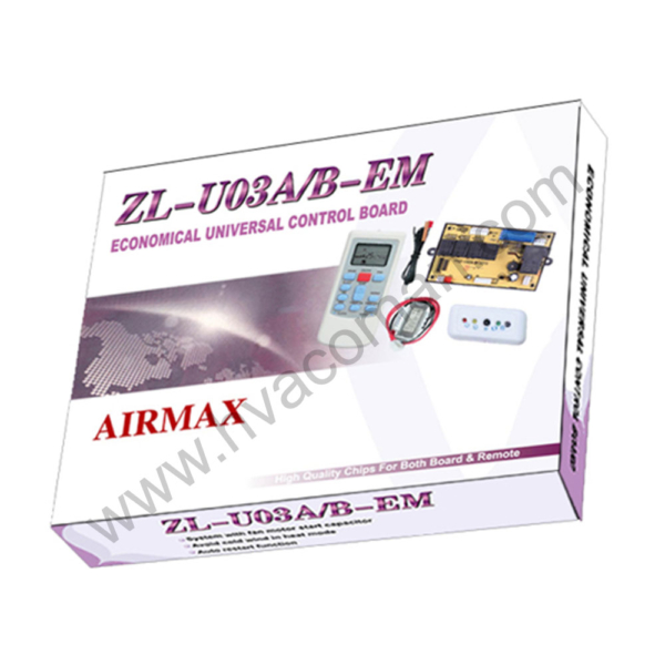 ZL-U03AB-EM Universal Air Conditioner PCB Board with AC Remote in Oman