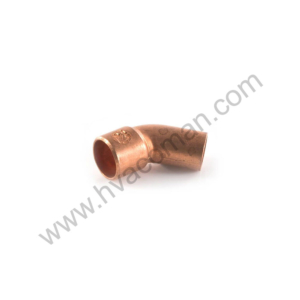 "Copper Elbow 45° - 5/8"" M x F"