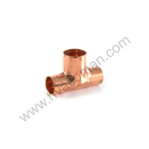 "Copper Branch Reducing Tee 7/8"" x 3/4"" x 3/4"""