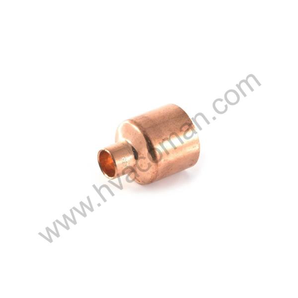 "Copper Reducing Coupling - 1.1/8"" x 3/4"""