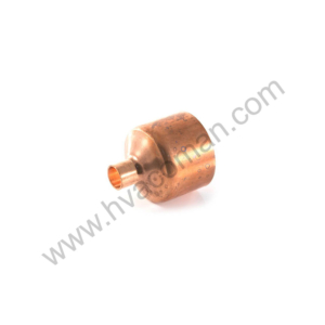 "Copper Reducing Coupling - 2.1/8"" x 7/8"""