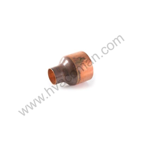 "Copper Reducing Coupling - 3.5/8"" x 3.1/8"""