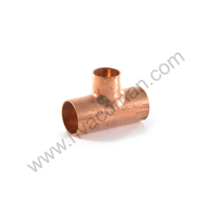 "Copper Reducing Tee 1.1/8"" x 7/8"" x 7/8"""