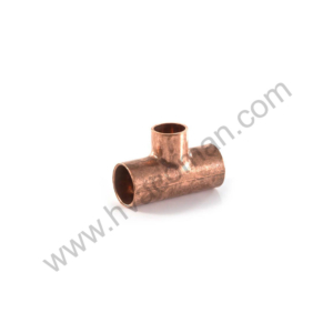 "Copper Reducing Tee 5/8"" x 5/8"" x 3/4"""