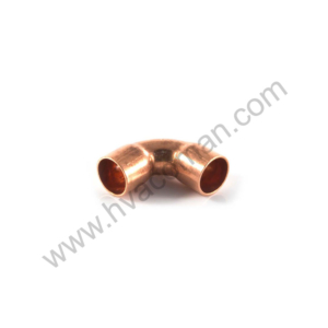 Copper Short Radius Elbow 90° - 3/8""