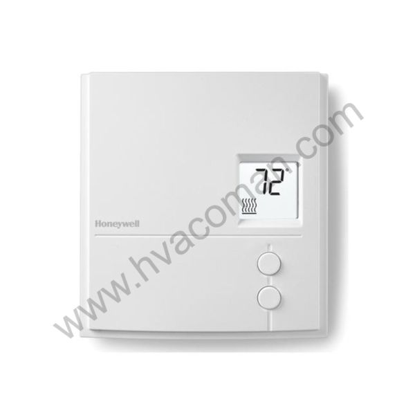 Honeywell RLV3150A Digital Line Volt Non-Programmable Thermostat
